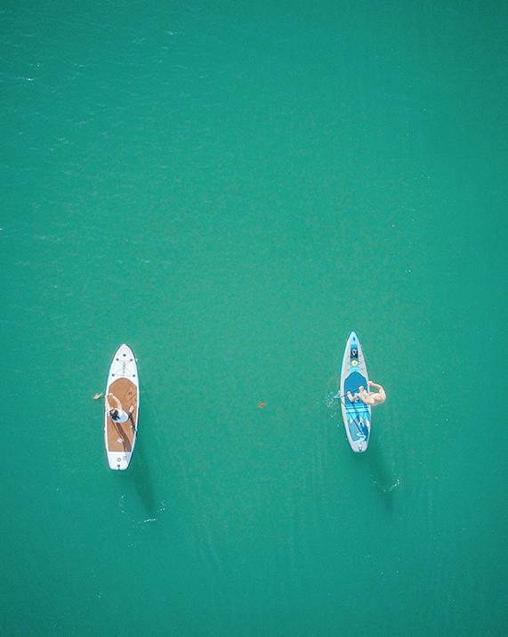 rutas paddle surf